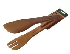 Бамбукова щипка за сервиране, bambukova, shtipka, 6tipka, ot bambuk