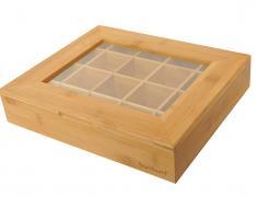 Бамбукова кутия за кафе на капсули, kutiq, kafe