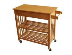 Кухненско шкафче с колелца, kuhnensko, 6kaf4e, ot bambuk