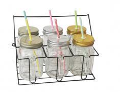 Комплект за напитки, стъкло, za napitki, burkani, za fresh, za sok