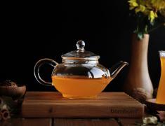 Стъклен чайник, за чай, за кафе, chai, kafe