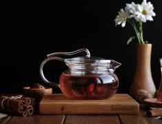 Стъклен чайник, staklen, chinik, 4ainik, chainik, 600мл