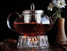 Стъклен чайник, styklen, chainik, 4ainik, 4ajnik, staklen, 1400 мл