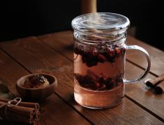 стъклен чайник, стъкло, халба, за чай, за фреш, за сок