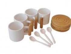 Комплект за кафе, 12 части, komplekt, za kafe