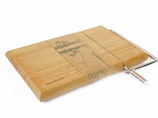 Бамбукова дъска за рязане на сирене и кашкавал