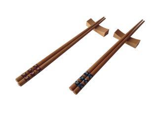 Бамбукови пръчици за хранене с поставки, bambukovi, prychici