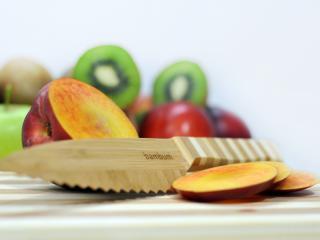 Бамбуков нож, назъбен универсален, bambukov, noj, nazyben, universalen
