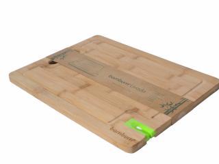 Livada - Бамбукова дъска за рязане с керамично точило за нож