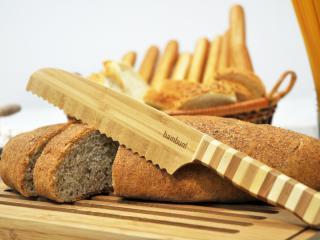 Бамбуков нож за хляб, bambukov, noj, za hlqb, ot bambuk